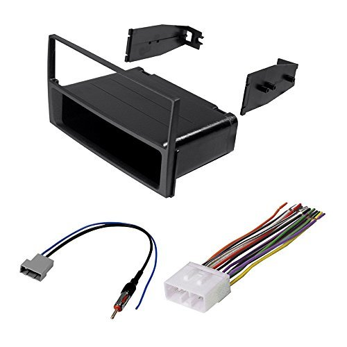 nissan sentra 2007 2008 2009 2010 2011 car stereo radio cd player receiver install mounting kit