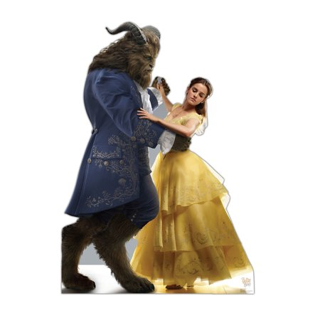 Belle And The Beast - Beauty And The Beast Standup Standee Cardboard Cutout - Beauty And The Beast Party Supplies