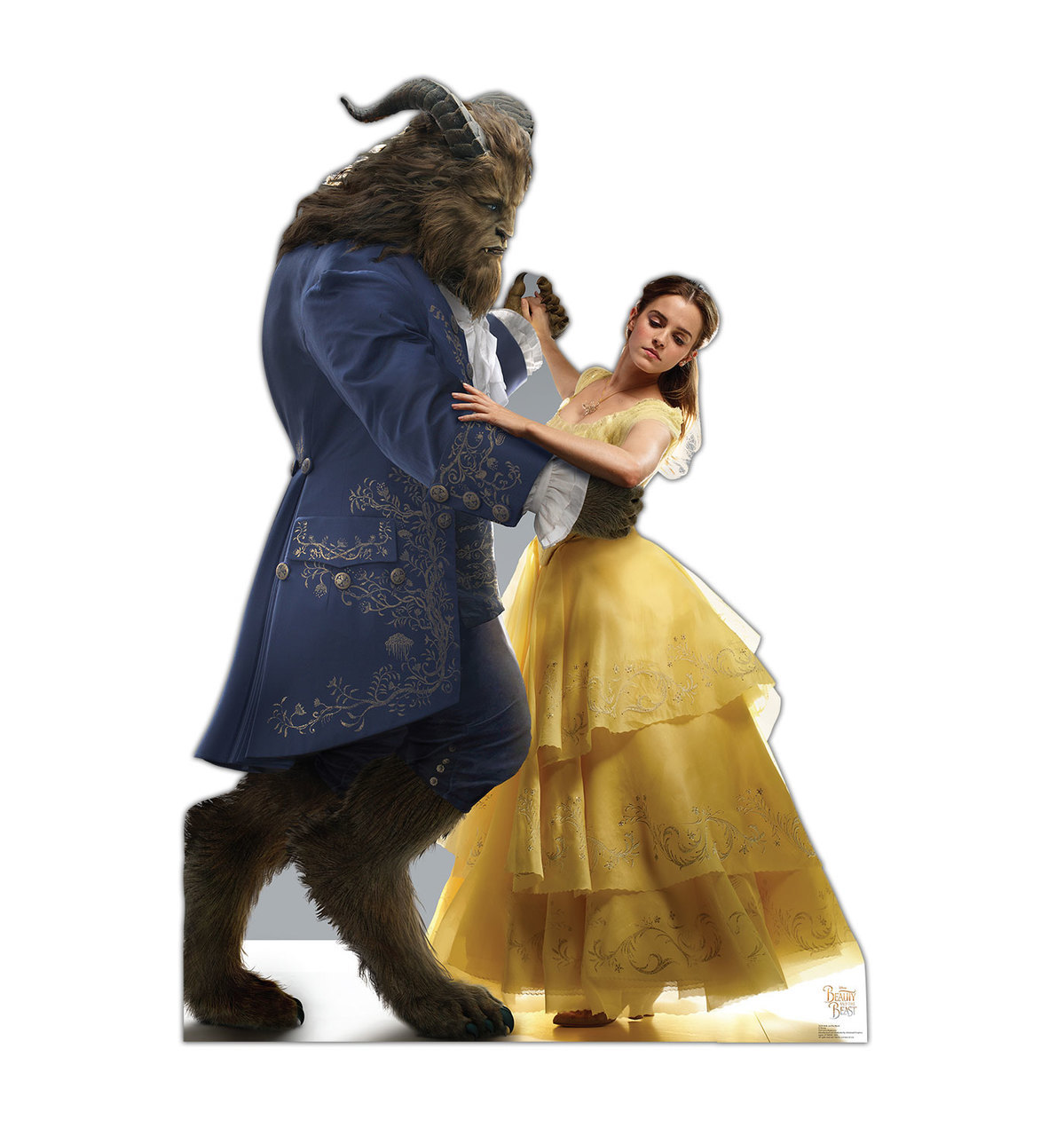 Belle And The Beast - Beauty And The Beast Standup Standee Cardboard Cutout