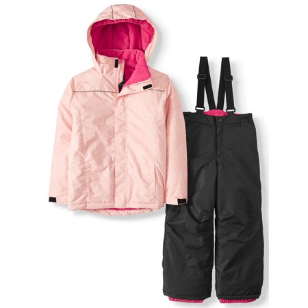 Iceburg LuLu Insulated Jacket and Snowsuit/Ski Bib, 2-Piece Set (Big Girls) ()