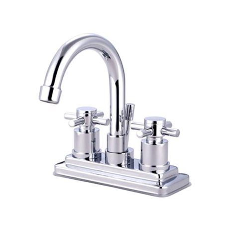 Kingston Brass Ks8661dx 4 Inch Center Lavatory Faucet Polished Chrome