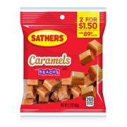 Sathers Caramels, 2.3 Oz