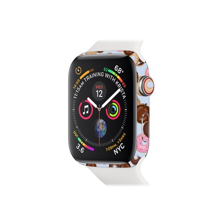 Skin for Apple Watch Series 4 40mm - Donut Binge | Protective, Durable, and Unique Vinyl Decal wrap cover | Easy To Apply, Remove, and Change (40 Mm Donut)