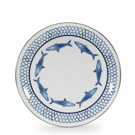 Satin Sand Dune Dinner - Highland Dunes Cassella Fish 10.75'' Dinner Plate (Set of 4)