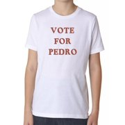 Vote For Pedro Boy's Cotton Youth T-Shirt