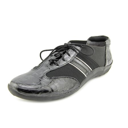 (Ros Hommerson Nancy   Round Toe Patent Leather  Sneakers)