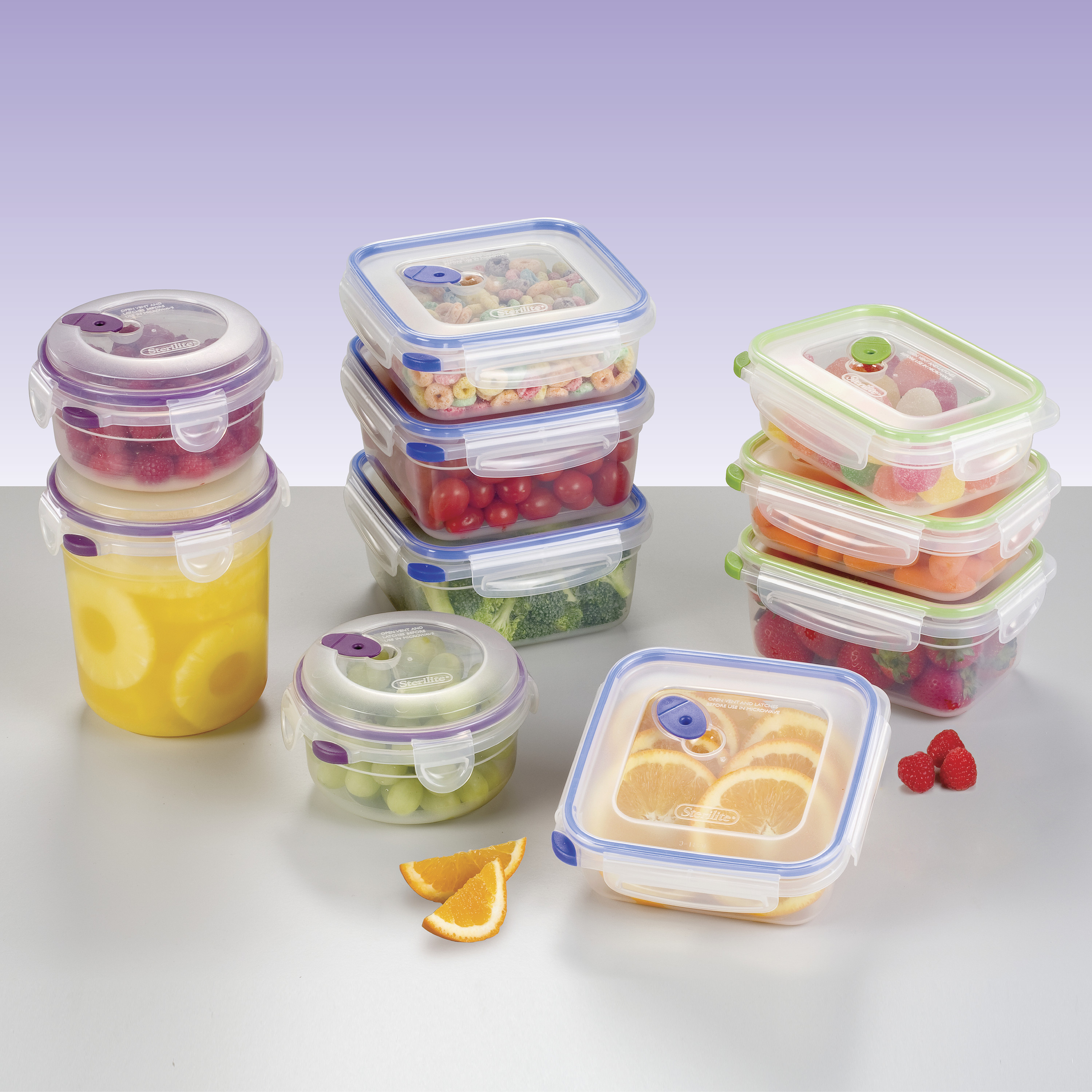 Sterilite 20-Piece Storage Set...
