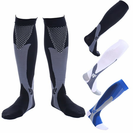 CFR Compression Socks for Men & Women BEST Recovery Performance Stockings for Running, Medical, Athletic, Edema, Diabetic, Varicose Veins, Travel, Pregnancy, Relief Shin Splints,