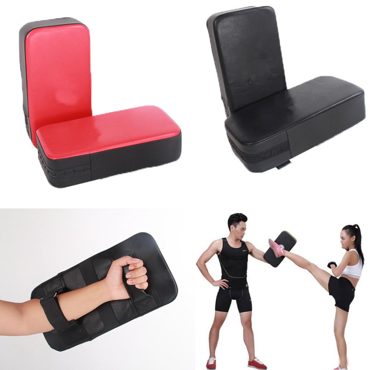 Taekwondo Focus Karate Boxing Kick Hand Target Punch Pads PU Leather Muay Thai