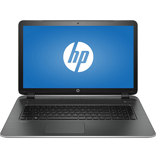 "Refurbished HP Natural Silver/Ash Silver 17.3"" Pavilion 17-F115DX Laptop PC with Intel Core i5-4210U Processor, 6GB Memory, 750GB Hard Drive and Windows 8.1"