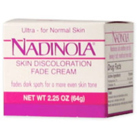 Nadinola Skin Discoloration Fade Cream for Normal Skin 2.25 (Lightening Beauty Creme)