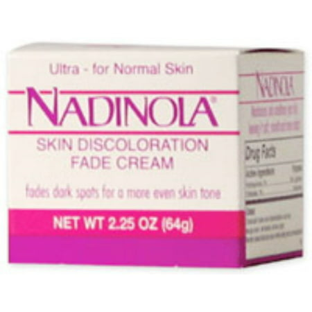 Italian Fudge - Nadinola Skin Discoloration Fade Cream for Normal Skin 2.25 oz