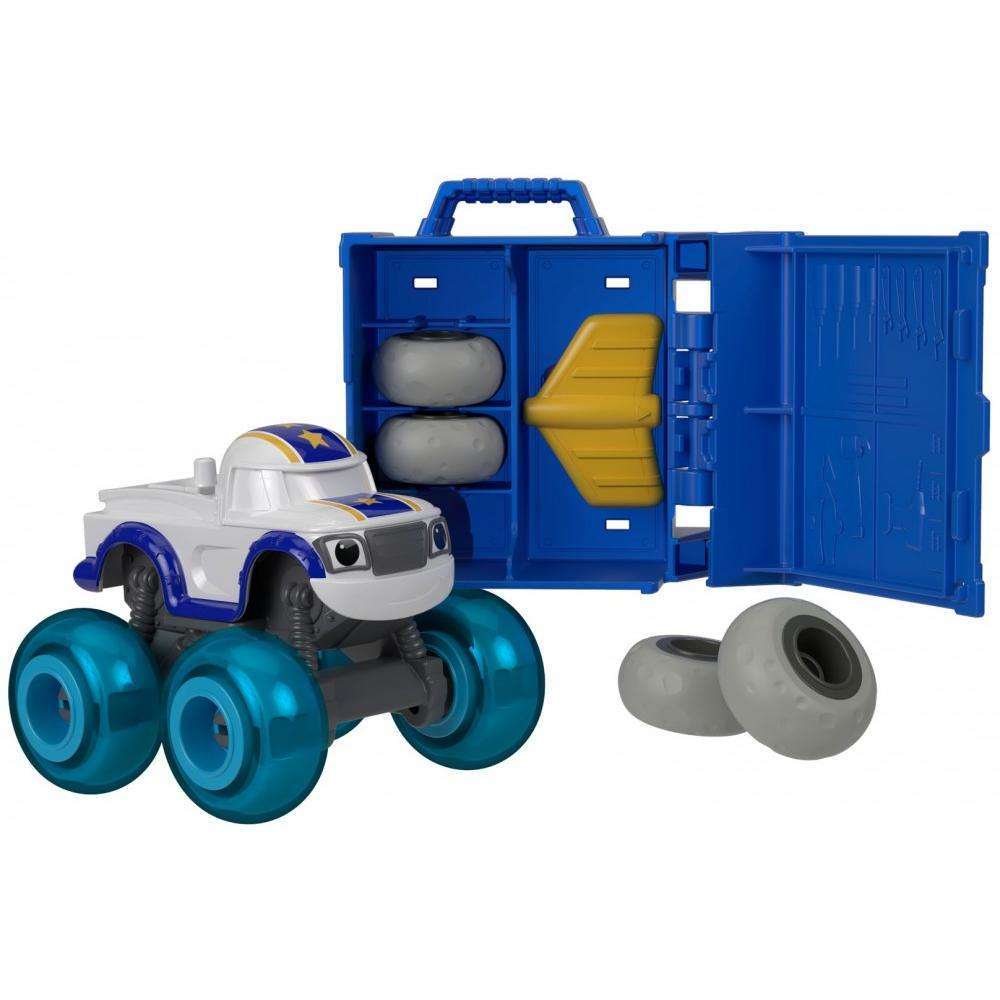 Nickelodeon Blaze and the Monster Machines Tune Up Tires Darington by Fisher-Price