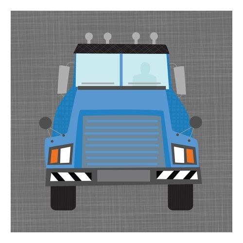 Oopsy Daisy's Ways To Wheel Mac Truck Canvas Wall Art, 10x10