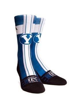 BYU Cougars Rock Em Socks Youth Jersey Series Crew Socks