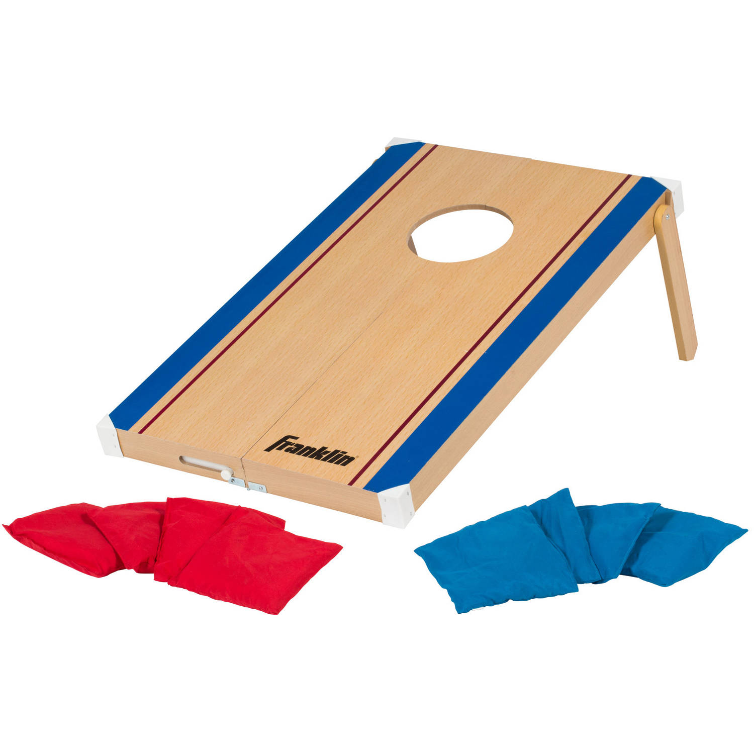 Franklin Sports Fold-N-Go Bean Bag Toss and Tic-Tac-Toe Game