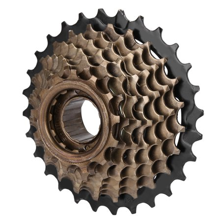 Ejoyous Bicycle Freewheel Cassette Sprocket 6 Speed 14T-28T Mountain Bike Replacement Accessory,Freewheel, Bike Cassette 6 Speed - image 4 of 7