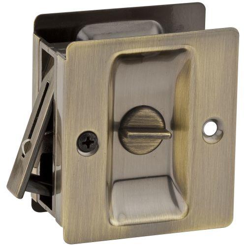 Kwikset 333 Rectangular Privacy Bed/Bath Pocket Door Lock