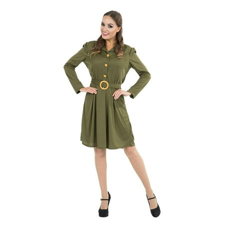 WW2 1940s Womne's Military Costume (1940's Womens Costumes)