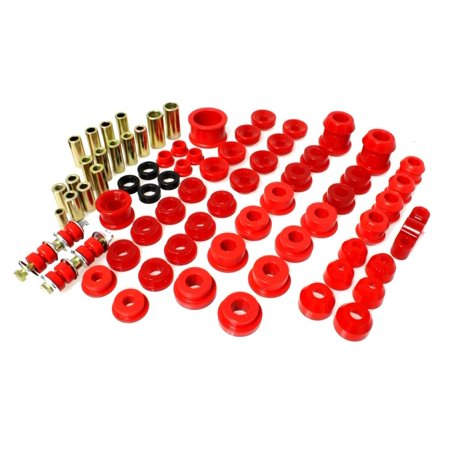 Energy Suspension 92-95 Honda Civic/CRX / 93-97 Honda Del Sol (including VTEC) Red Hyper-Flex