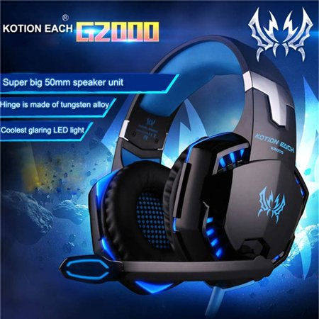 Surround Stereo HiFi Pro Gaming Headset with HD Mic For PS4 XBOX PC Games Computers Game Virtual Sound covid 19 (Xbox 360 Surround Sound coronavirus)
