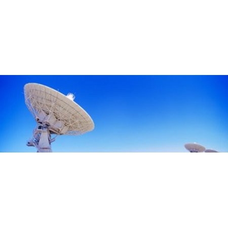 - Radio telescope satellite dishes of the Very Large Array on the Plains of San Agustin Socorro New Mexico USA Poster Print