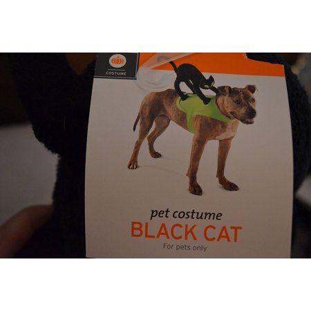 Pet Costume Black Cat Rider (LARGE/X-LARGE), For pets only By Target Ship from US](Target 2017 Halloween Clearance)