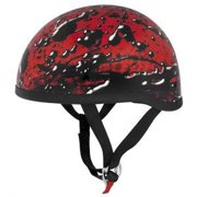 Skid Lid Lethal Threat Oil Spill Helmet Red