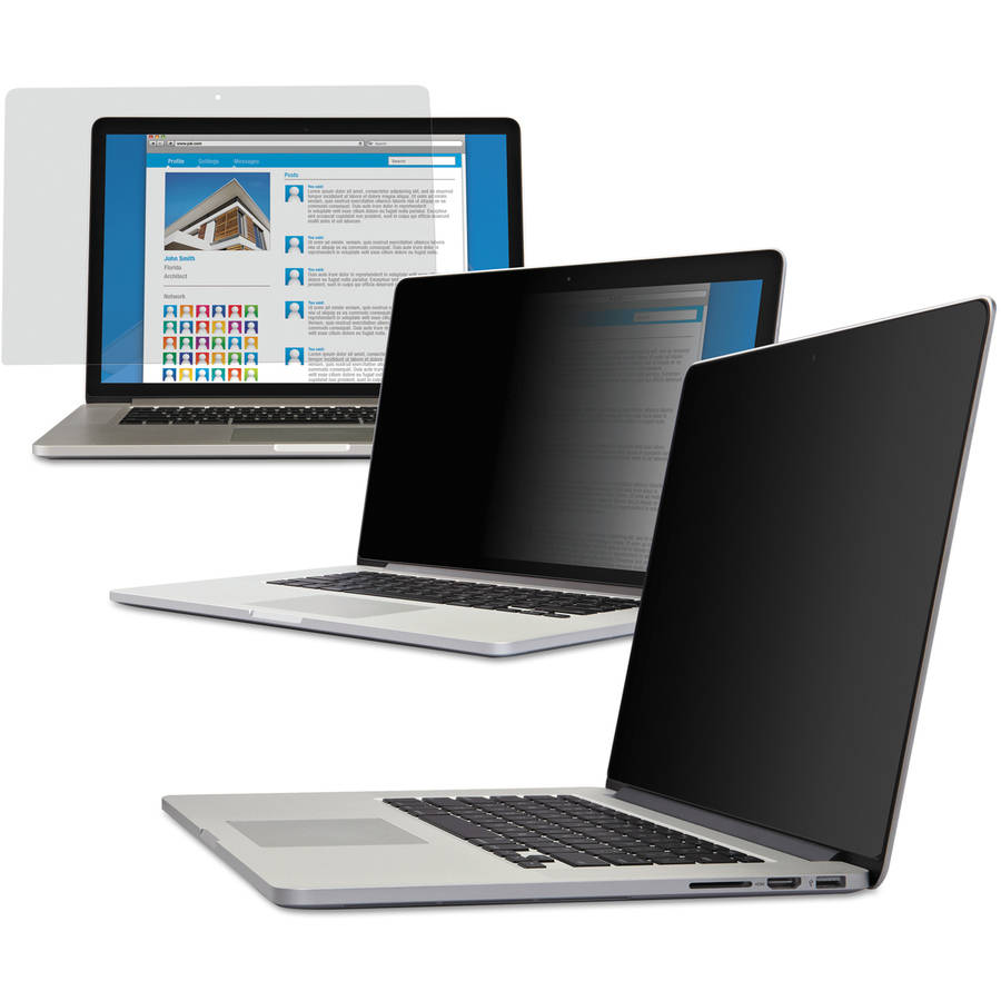 "3M Blackout Frameless Privacy Filter, 13"" Widescreen MacBook Pro with Retina Display"