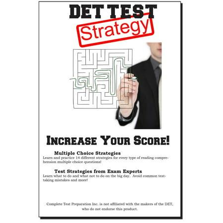 DET Test Strategy - eBook