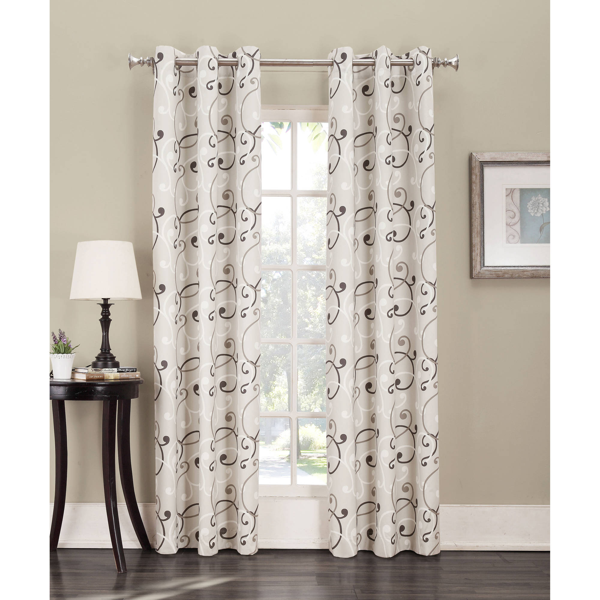 Sun Zero Belinda Thermal-Lined Curtain Panel