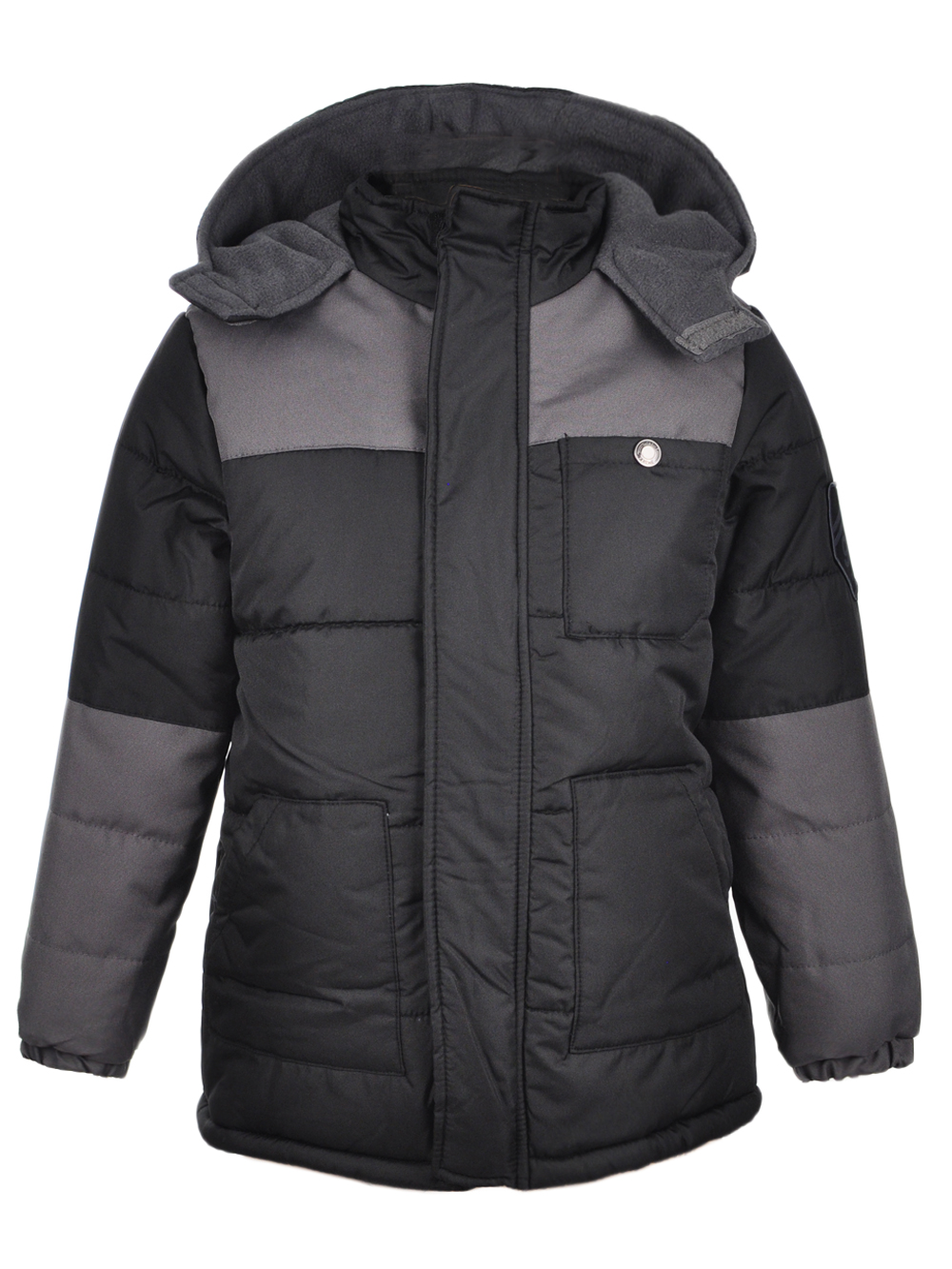iXtreme Filled Colorblock Puffer Jacket (Big Boys)