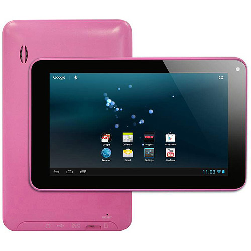 Rca 7'' Tablet W 1ghz Processor And 8gb