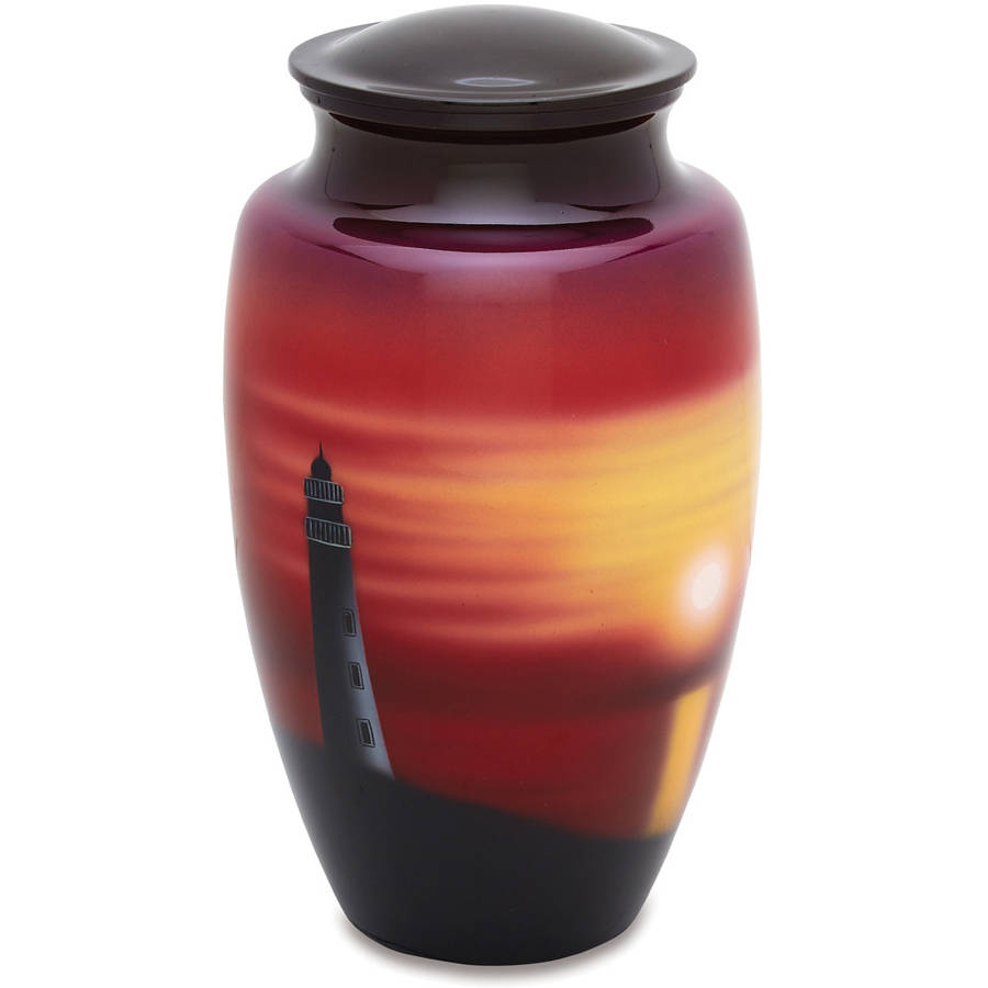 Urnsdirect2U Beacon Of Light Adult Cremation Urn, 220 Cu In