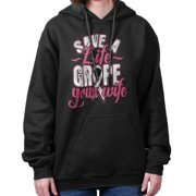 Breast Cancer Awareness Shirt | Save Life Grope Your Wife BCA Hoodie Sweatshirt