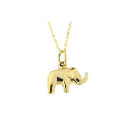 Beauniq 14k yellow gold elephant pendant necklace walmart beauniq 14k yellow gold elephant pendant necklace aloadofball Gallery