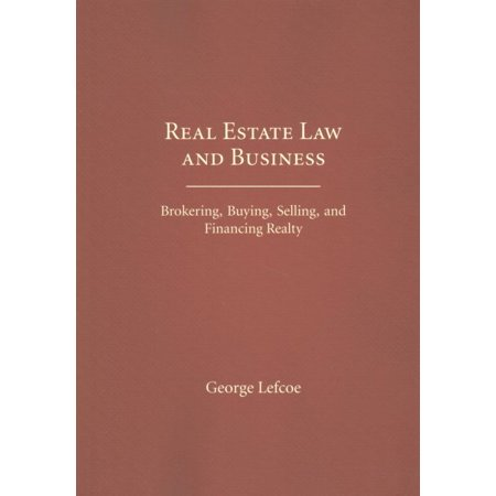 Real Estate Law And Business