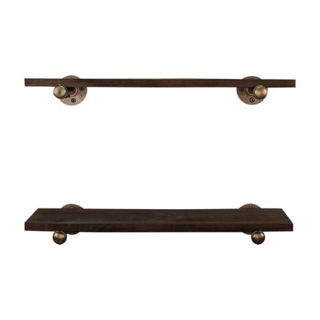 Furniture Pipeline Honolulu Industrial Farmhouse Shelf - Set of 2 ()