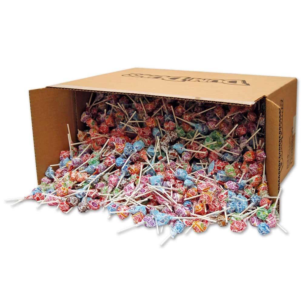 Dum Dums Suckers Lollipops Case of 1800 Pieces