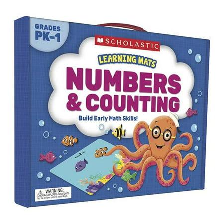 Ressources p-dagogiques Scholastic SC-823963 Tapis d'apprentissage Nombres et d-nombrement - image 1 de 1