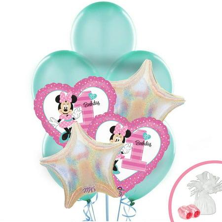 Disney Minnie Mouse 1st Birthday Balloon - Baby Minnie First Birthday