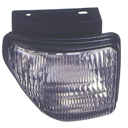 Compatible 1992 - 1993 Oldsmobile Cutlass Supreme Parking Light Assembly / Lens Cover - Left (Driver) Side - (4 Door; Sedan) 5976889 GM2520140 Replacement For Oldsmobile Cutlass (Oldsmobile Cutlass Supreme 4 Door)