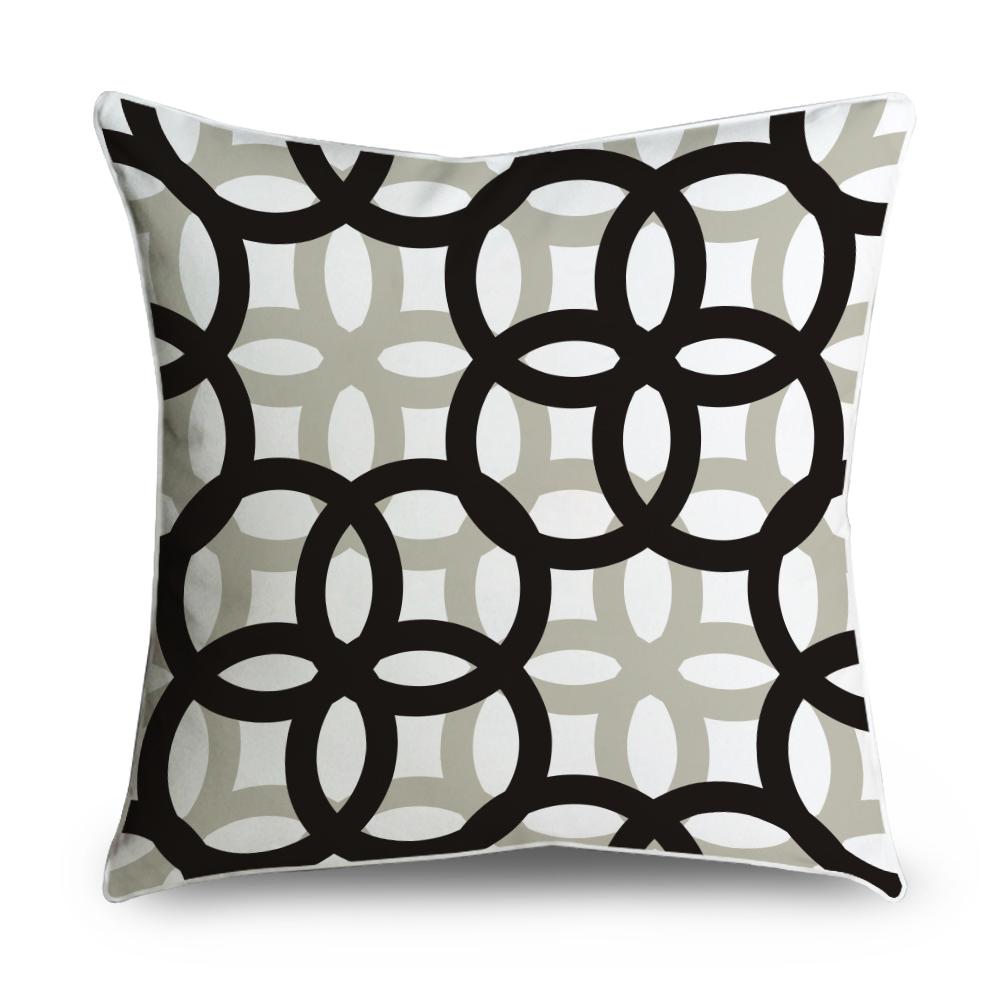 Popeven Geometric Decorative Throw Pillow Case Home Decor Cushion Cover by DreamstrueLLC