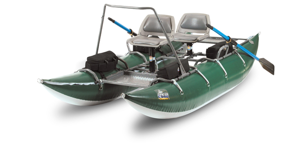 Outcast PAC 1200 Pro Series Boat, Green by Outcast