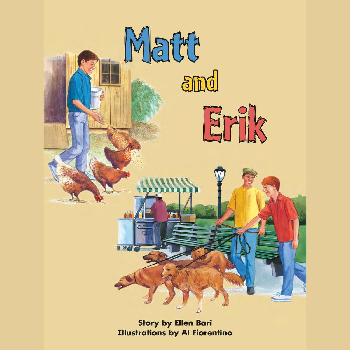 Matt and Erik - Audiobook