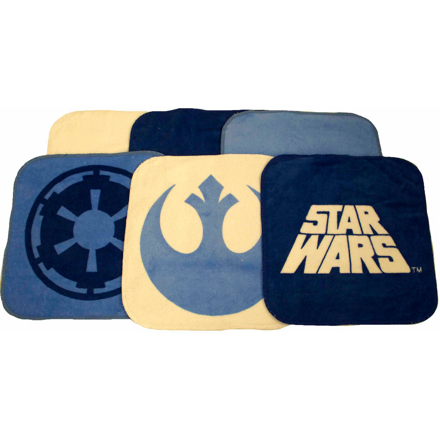 Star Wars Washcloths, Set of 6