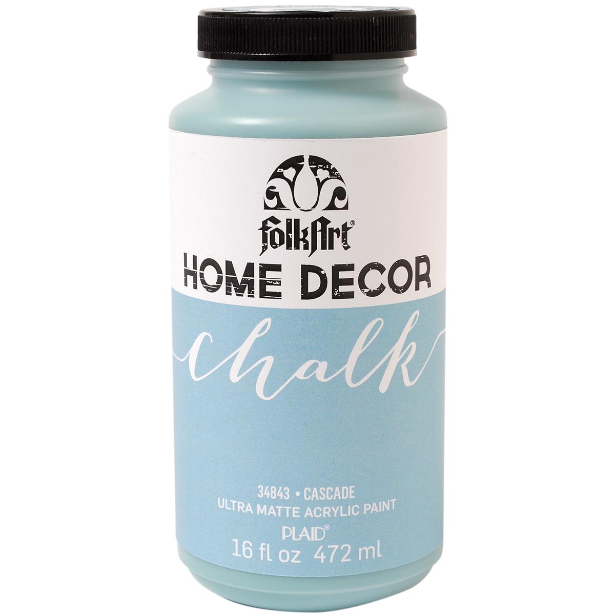 Folkart Home Decor Chalk Paint 16oz-Cascade