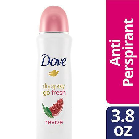 Revivex Spray - Dove Dry Spray Antiperspirant Deodorant Revive 3.8 oz.(pack of 1)
