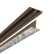 ACP CeilingMAX 100 sq. ft. Galvanized Steel Surface Mount Ceiling Grid Kit