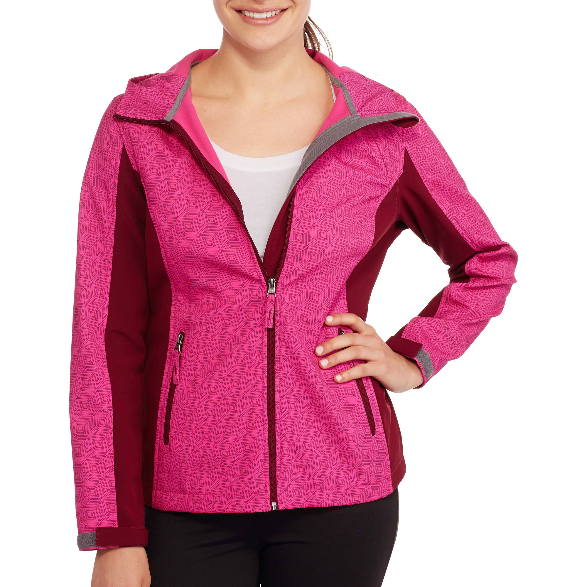 Free Tech Women's Colorblock Soft Shell Jacket